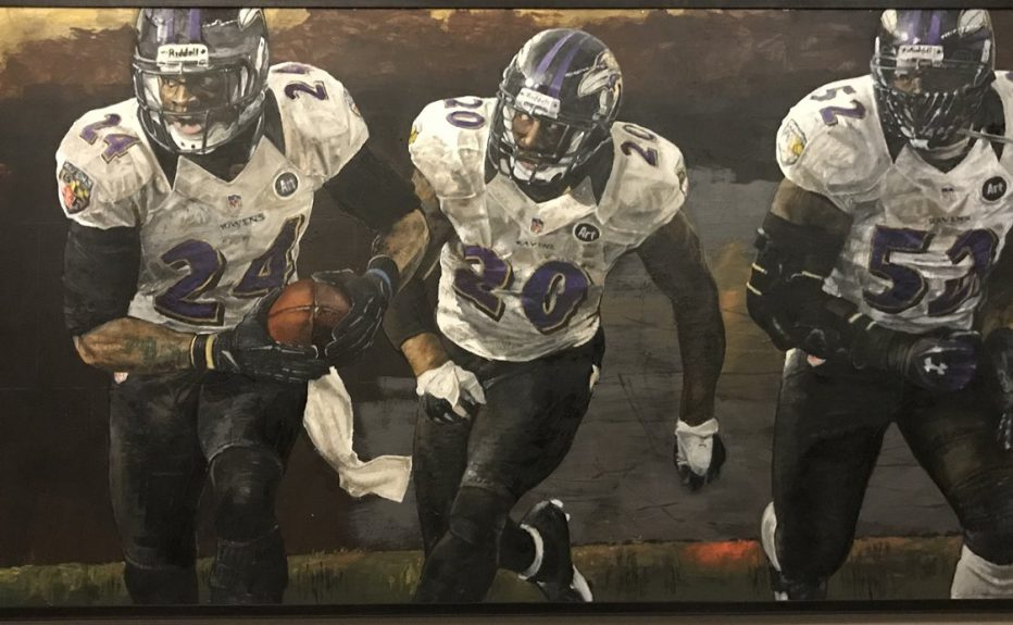 The Caw: Meet the Famed Artist Behind the Ravens' Paintings