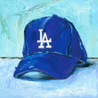 Dodgers cap by Lindsay Frost