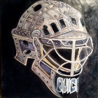 Quick hockey mask by Lindsay Frost