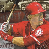 Los Angeles Angels of Anaheim by Stephen Holland